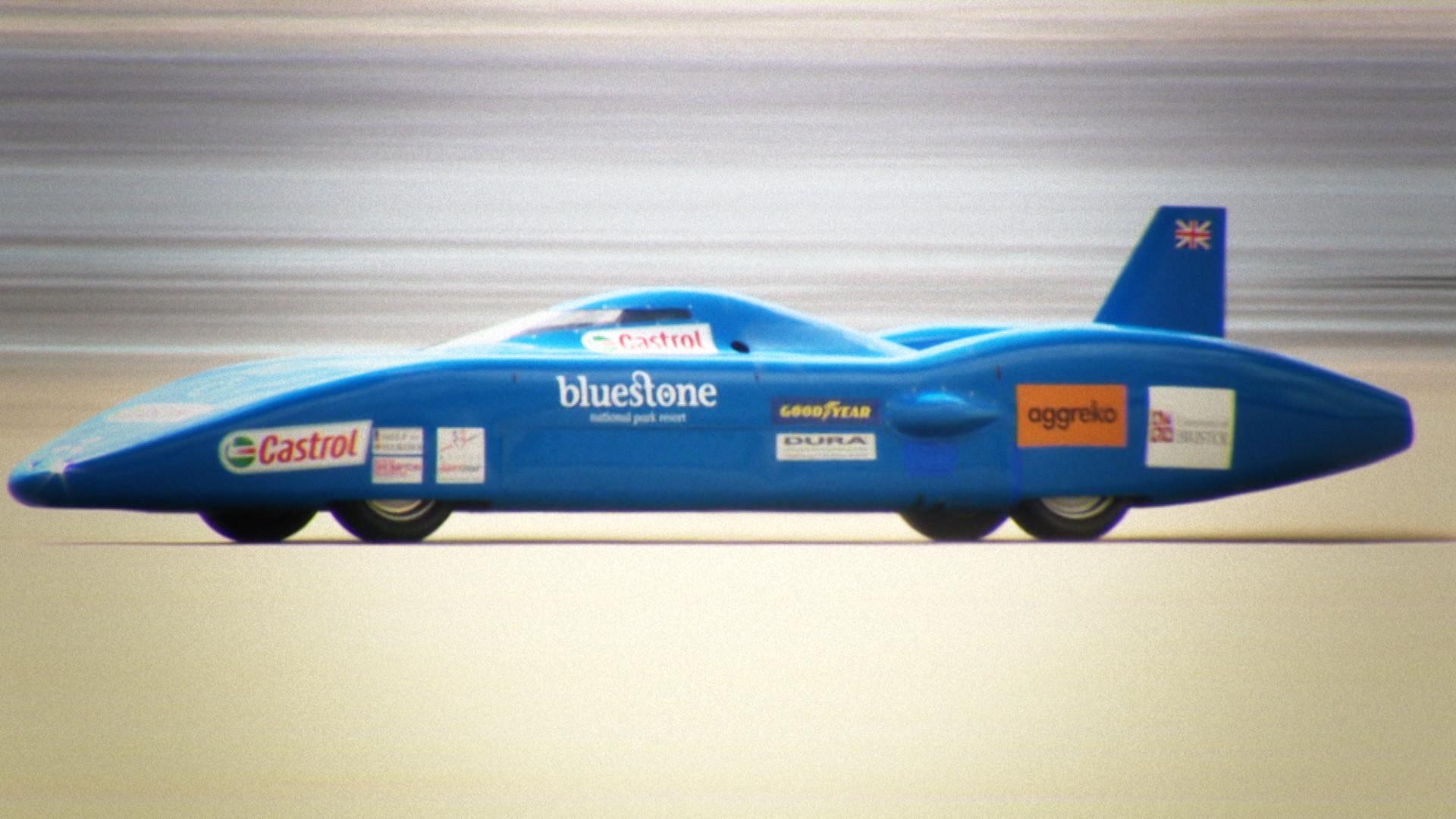 Land Speed Record >> Bluebird Electric - Tilling Creative